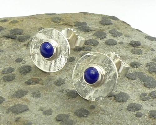 oorbellen lapis lazuli zilver