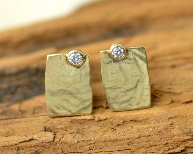 oorbellen goud diamant edelsmid