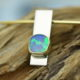 Hanger Opaal en goud
